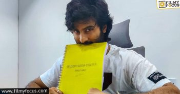 Sudheer Babu Starts The Second Schedule Of His Next