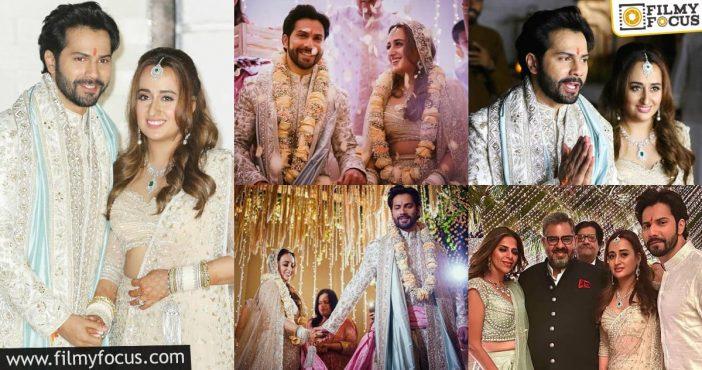 Varun Dhawan Marries His Long Time Girlfriend Natasha