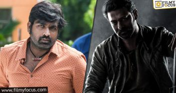 Vijay Sethupathi Being Considered Opposite Prabhas