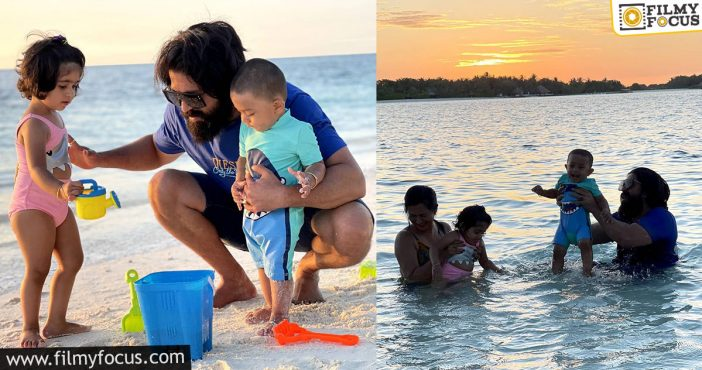 Yash Goes To The Maldives With His Family