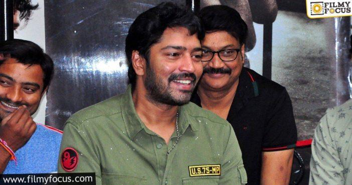 Allari Naresh Confirms His Next With Naandhi Director