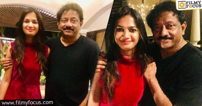 Ariyana Glory Meets Her Favorite Rgv In Goa