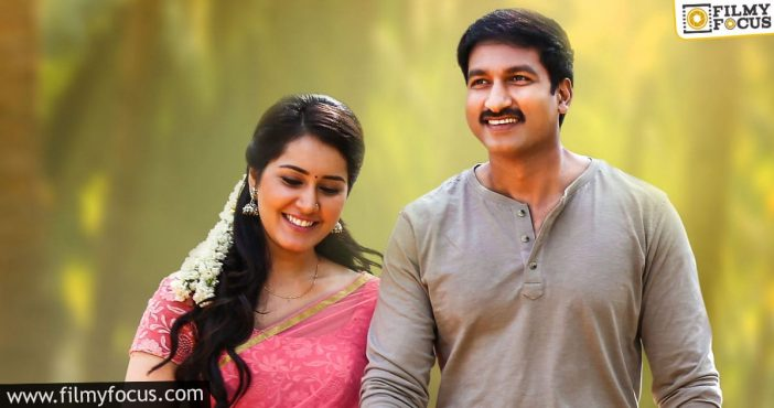 Gopichand And Rashi Khanna To Team Up For The Third Time