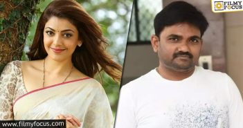 Kajal And Maruthi Working Together For A Web Series