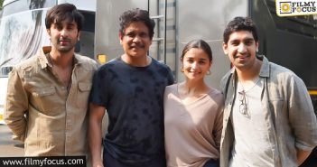 Nagarjuna Completes His Portions For Brahmastra