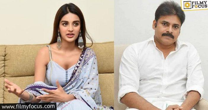 Nidhhi Agerwal Give Clarity On Pawan Kalyan Movie1
