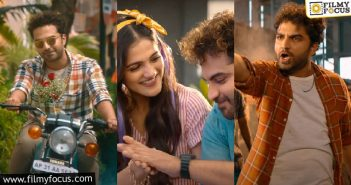 Paagal Teaser Vishwak Sen Turns Aggressive Lover Boy