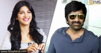 Ravi Teja Has A Special Place In My Heart, Says Shruti Haasan