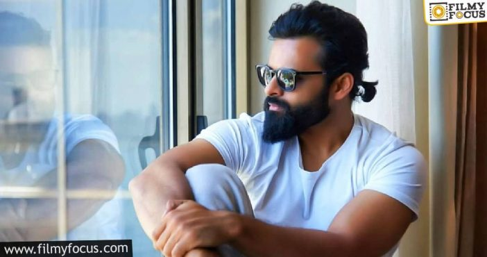Sai Dharam Tej's Next To Roll Out Very Soon