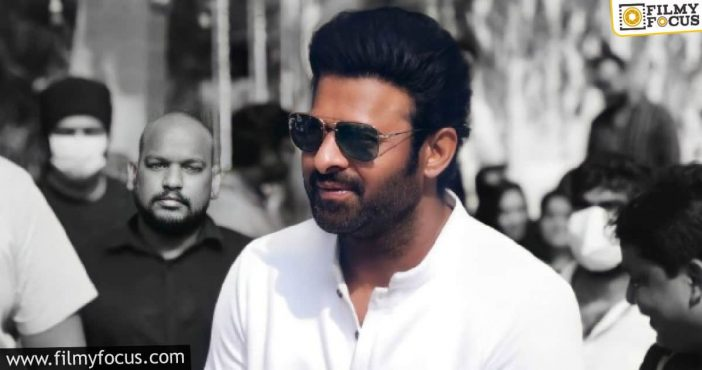 Speculations Start On #prabhas25