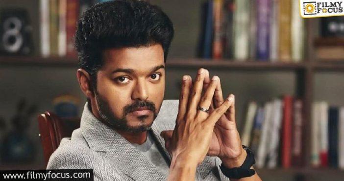 Top Production House Pays Hefty Advance For Vijay's Bilingual