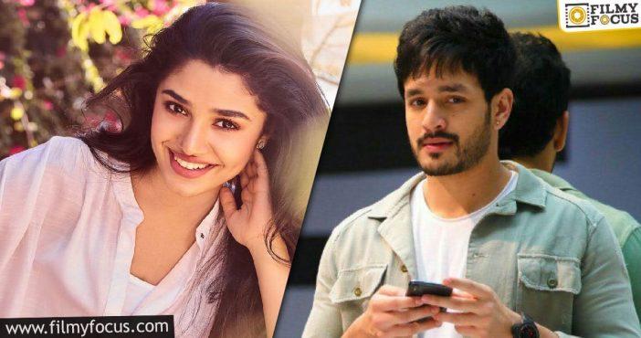 Uppena Girl Being Considered For Akhil Akkineni's Next