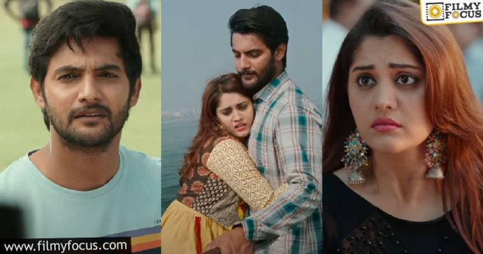 Aadi's Sashi Trailer Engaging Love Drama