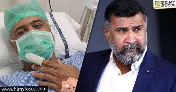 Aditya Menon Injured On The Sets Of Pawan's Film