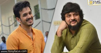 Akhil Surender Reddy Projects Get A Start Date