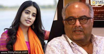 Boney Kapoor Reveals Details About Jahnvi's Telugu Debut
