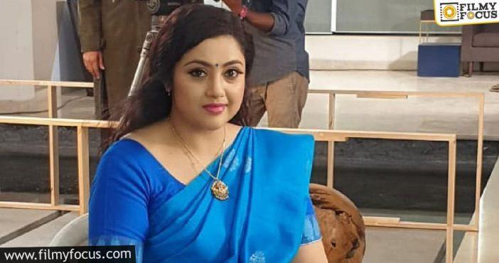 Meena Joins The Shooting Of Drishyam 2