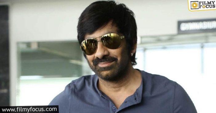 New Faces Opposite Ravi Teja For His Next