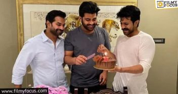 Ram Charan Celebrates Sharwanand Birthday In Style
