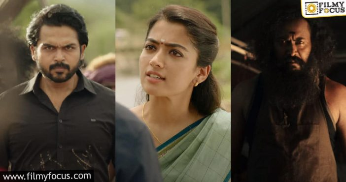 Sulthan Trailer Of Karthi Is Promising