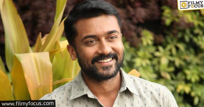 Suriya Plans To Produce Telugu Films