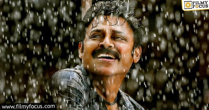 Tremendous Response For Victory Venkatesh's Young Look Poster Of Narappa