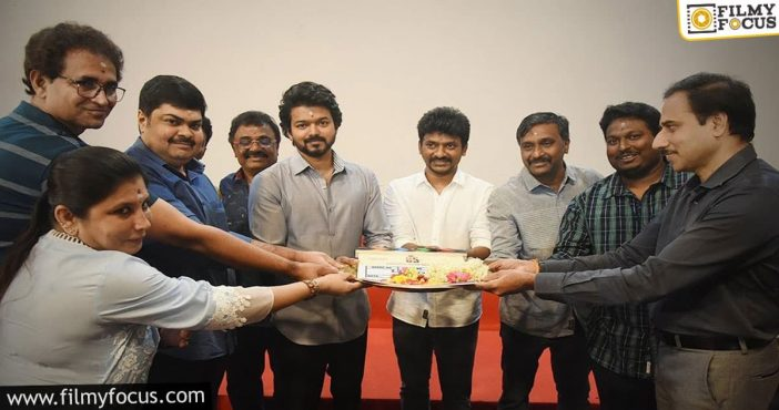 Vijay's 65th Film Got Launched