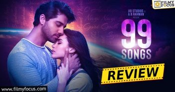 99 Songs Movie Review And Rating Eng