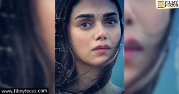 Aditi Rao Hydari's First Look In Maha Samudram Unveiled