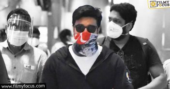 After Karnataka Lockdown, Ram Charan Returns To Hyderabad