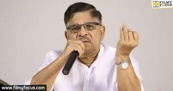 Allu Aravind Clarifies About 'covid +ve' Reports