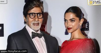 Before Prabhas' Film, Amitabh And Deepika Padukone To Act Together In This Film