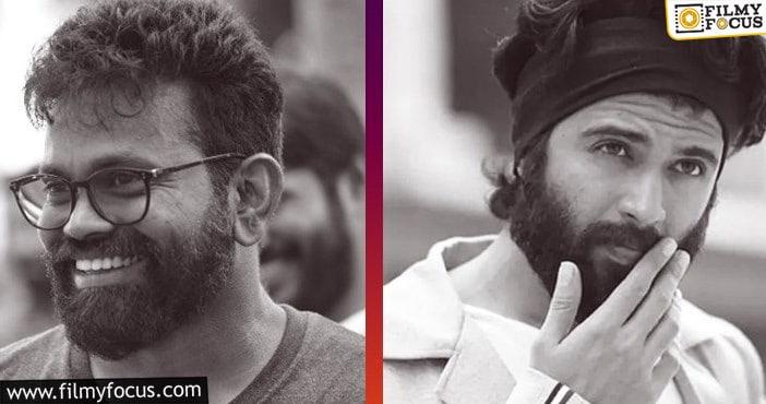 Director Sukumar And Hero Vijay Deverakonda Film As Per Schedule