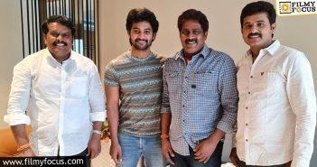 Hero Aadi Sai Kumar Next With Director M. Veerabhadram