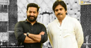 Ntr Watches Vakeel Saab, Hugs Pawan Kalyan