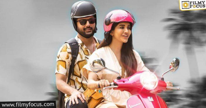 Nithiin's Fun Ride With Nabha Natesh