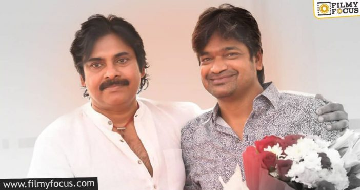 Pawan Completes Look Test For Harish Shankar Project