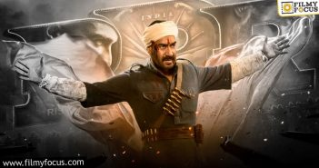 Rrr Ajay Devgn's Powerful Character Introduced Through Motion Poster