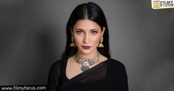 Salaar Shruti Haasan To Cover The Gangster Story Of Prabhas