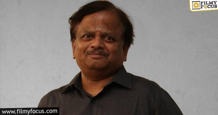 Shocking Director Kv Anand Passes Away