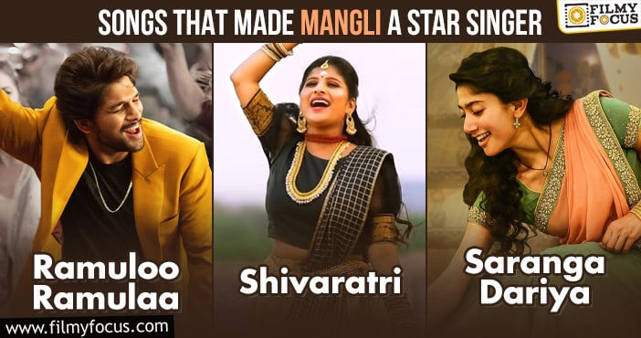 Songs That Made Mangli A Star Singer