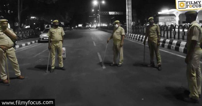 Telangana Government Imposes Night Curfew