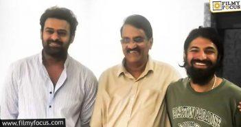 Tentative Start Date For Prabhas Nag Ashwin Film