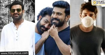 Tollywood Star Heroes Restricted Themselves To Home Isolation