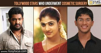 Tollywood Stars Who Underwent Cosmetic Surgery
