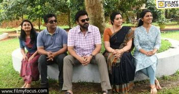 Venkatesh Wraps Up His Portion For Drushyam 2