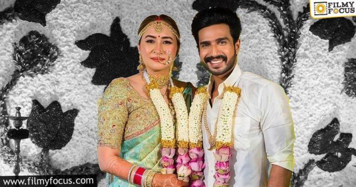Vishnu Vishal Ties The Knot With Gutta Jwala