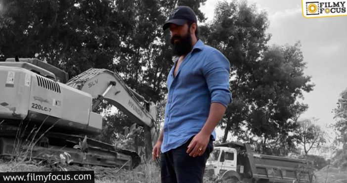 Yash Wraps Up The Shooting For Kgf2; Takes Up A New Role