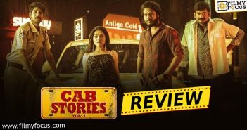 Cab Stories Web Series Review And Rating Eng