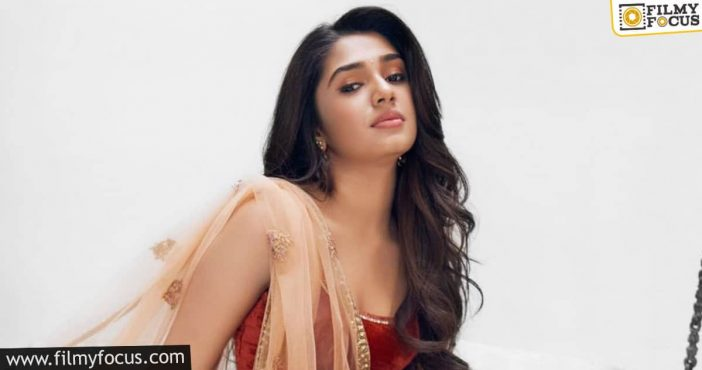 Challenging Role Offered For Kriti Shetty